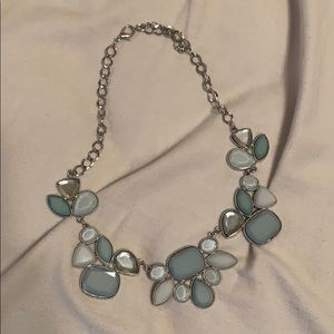 Variations of Light Blue Costume Necklace